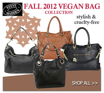 Steve Madden Fall 2012 Vegan Handbag Collection